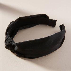 Anthropologie Knotted Chiffon Headband